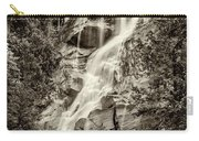 Shannon Falls - Bw Carry-all Pouch