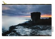 Shaped By The Waves Carry-all Pouch by Mike  Dawson