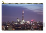 Shard Oxo Tower London Eye Walkie Talkie From Balfron Tower Carry-all Pouch