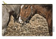 Sharing The Hay Carry-all Pouch