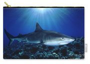 Shark In The Dark Carry-all Pouch