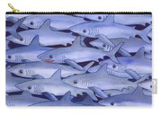 Sharks Carry-all Pouch by Catherine G McElroy