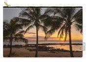 Sharks Cove Sunset 3 - Oahu Hawaii Carry-all Pouch