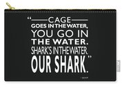 Sharks In The Water Carry-all Pouch