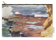 Sharp Rocky Coastline Carry-all Pouch