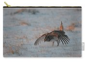 Sharptail Grouse On Snow Carry-all Pouch