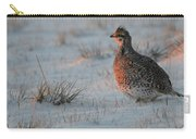 Sharptail On At Sunrise Carry-all Pouch