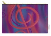 She Loves Me N G Clef Carry-all Pouch