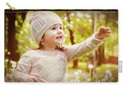 She Picked A Flower For You Carry-all Pouch