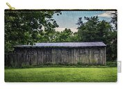 Shed At Camp Pecometh Carry-all Pouch