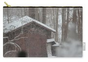 Shed Thru Glass And Snow Carry-all Pouch