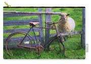 Sheep And Bicycle Carry-all Pouch