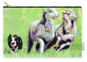 Sheep And Dog Carry-all Pouch
