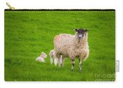 Sheep And Lambs Carry-all Pouch