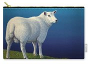 Sheep At The Edge Carry-all Pouch