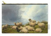 Sheep In A Pasture Carry-all Pouch