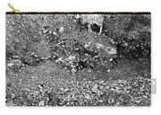 Sheep In Bw Carry-all Pouch