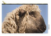Sheep In Profile Carry-all Pouch