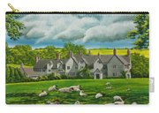 Sheep In Repose Carry-all Pouch