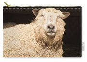 Sheep In Stable 2 Carry-all Pouch