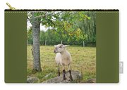 Happy Sheep Posing For Her Photo Carry-all Pouch