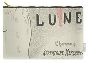 Sheet Music Aubade A La Lune Carry-all Pouch