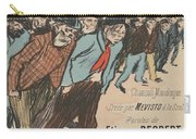 Sheet Music Le Roi Misere By Etienne Decrept And Leopold Gangloff, Performed By Mevisto Theophile Al Carry-all Pouch