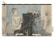 Sheet Music Scherzo Pour Piano Carry-all Pouch