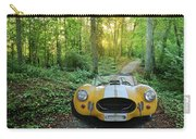 Shelby Ac Cobra In The Woods Carry-all Pouch