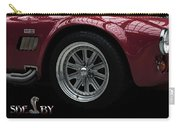 Shelby Cobra Sports Car Carry-all Pouch