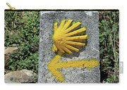 Shell And Arrow Marker, El Camino, Spain Carry-all Pouch