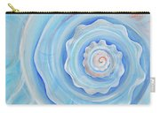 Shell Coral Blue Carry-all Pouch