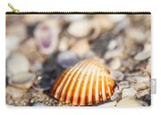 Shell On The Beach 3 Carry-all Pouch