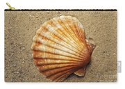 Shell On The Sand Carry-all Pouch