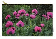 Shell Shaped Poppies Carry-all Pouch