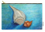 Shells In Blue Carry-all Pouch