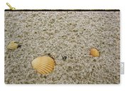 Shells In The Sand Carry-all Pouch