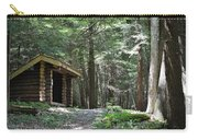 Shelter On Hemlock Trail Carry-all Pouch