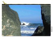 Sheltered From The Wind Carry-all Pouch
