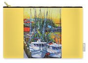 Shem Creek Shrimpers Sunset Carry-all Pouch