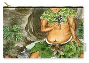 Shennong, Chinese Deity Of Medicine Carry-all Pouch