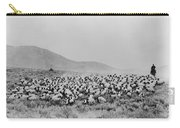 Shepherd And Flock, C1942 Carry-all Pouch