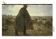 Shepherd Tending His Flock Carry-all Pouch