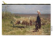 Shepherdess Carry-all Pouch by Anton Mauve