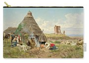 Shepherds Resting In The Roman Campagna Carry-all Pouch