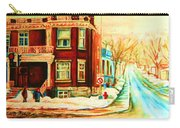 Sherbrooke In Winter Carry-all Pouch