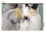 Shetland Sheep Dog Carry-all Pouch