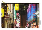 Shibuya Street At Night In Tokyo Carry-all Pouch