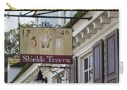 Shields Tavern Sign Carry-all Pouch