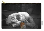 Shih Tzu Sleeping In The Sun Carry-all Pouch